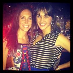 Lauren and I.