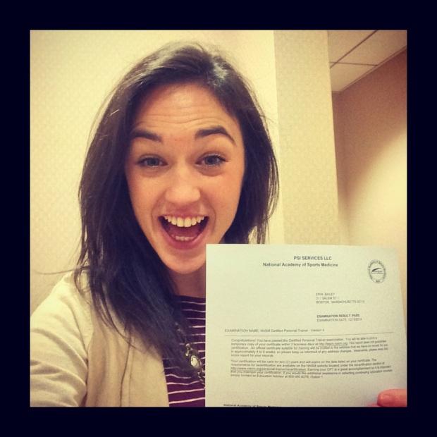 I passed!